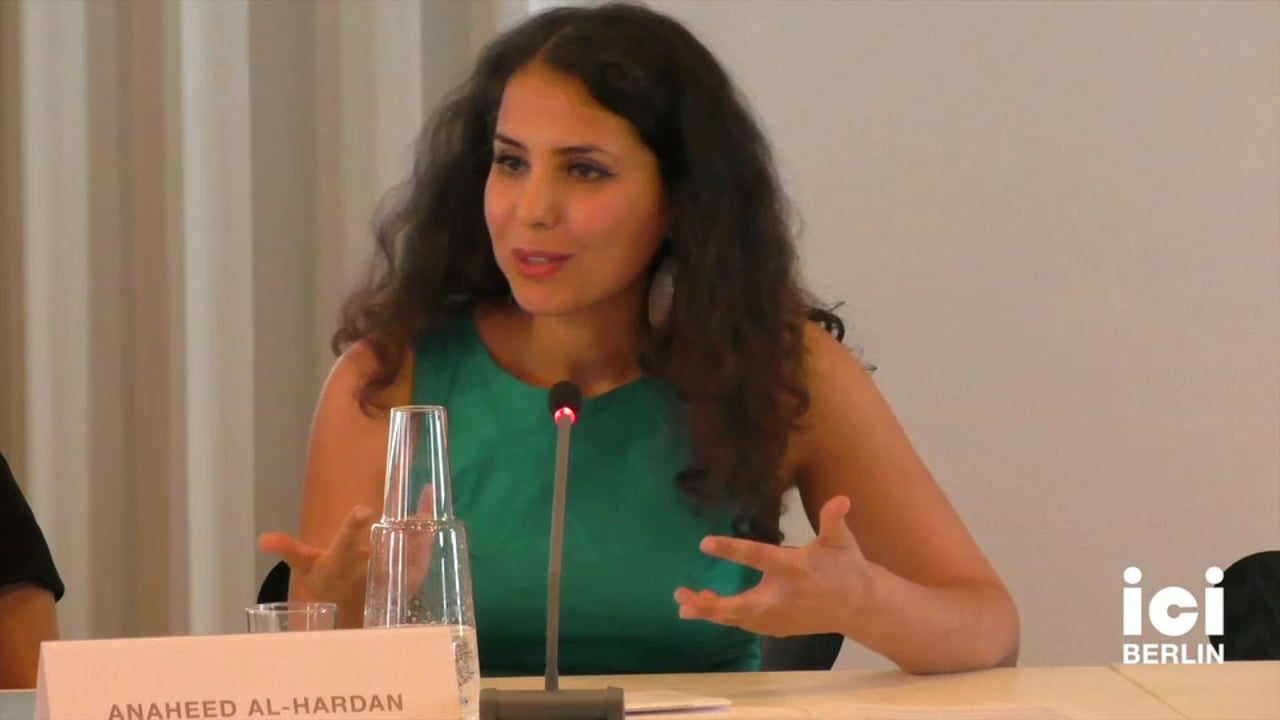 Talk by Anaheed Al-Hardan