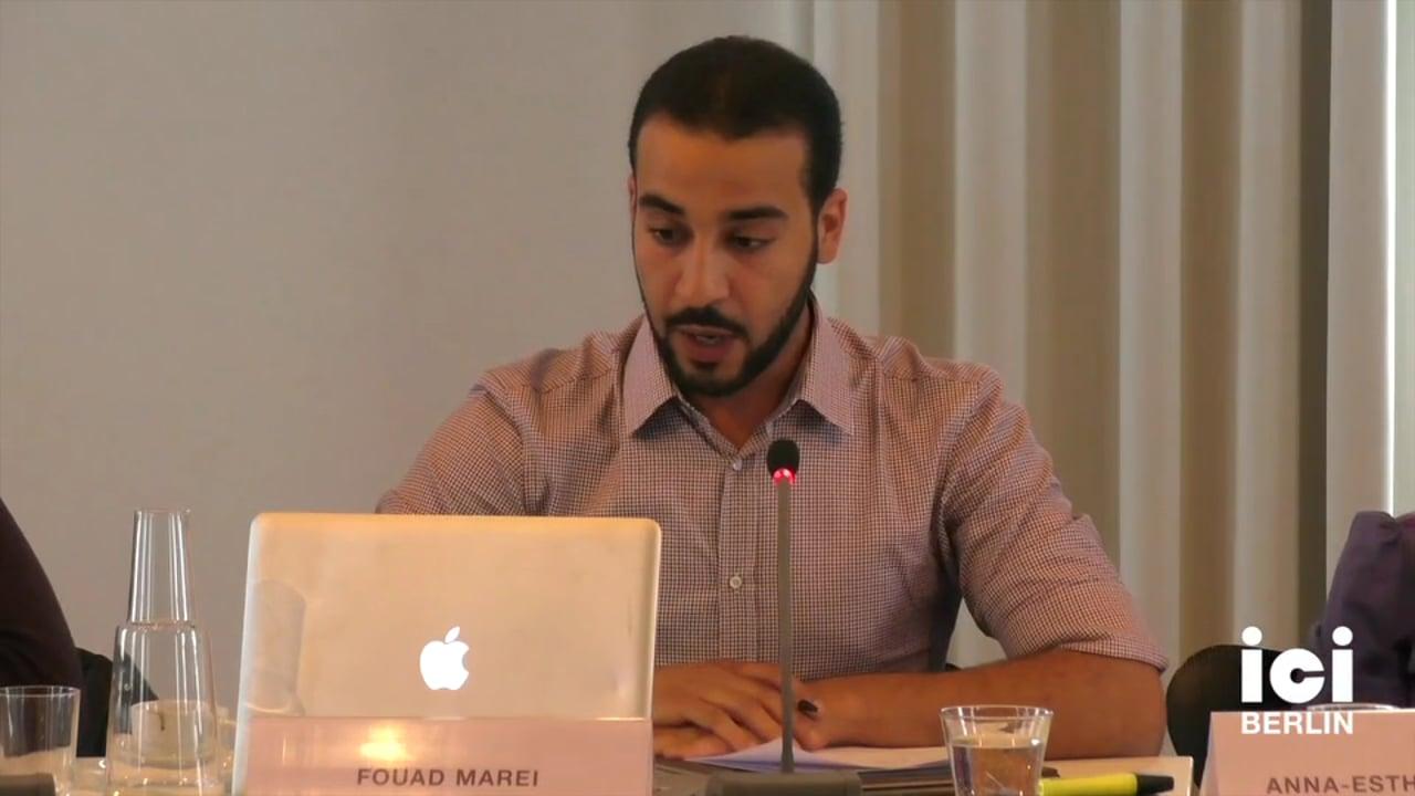 Talk by Fouad Marei
