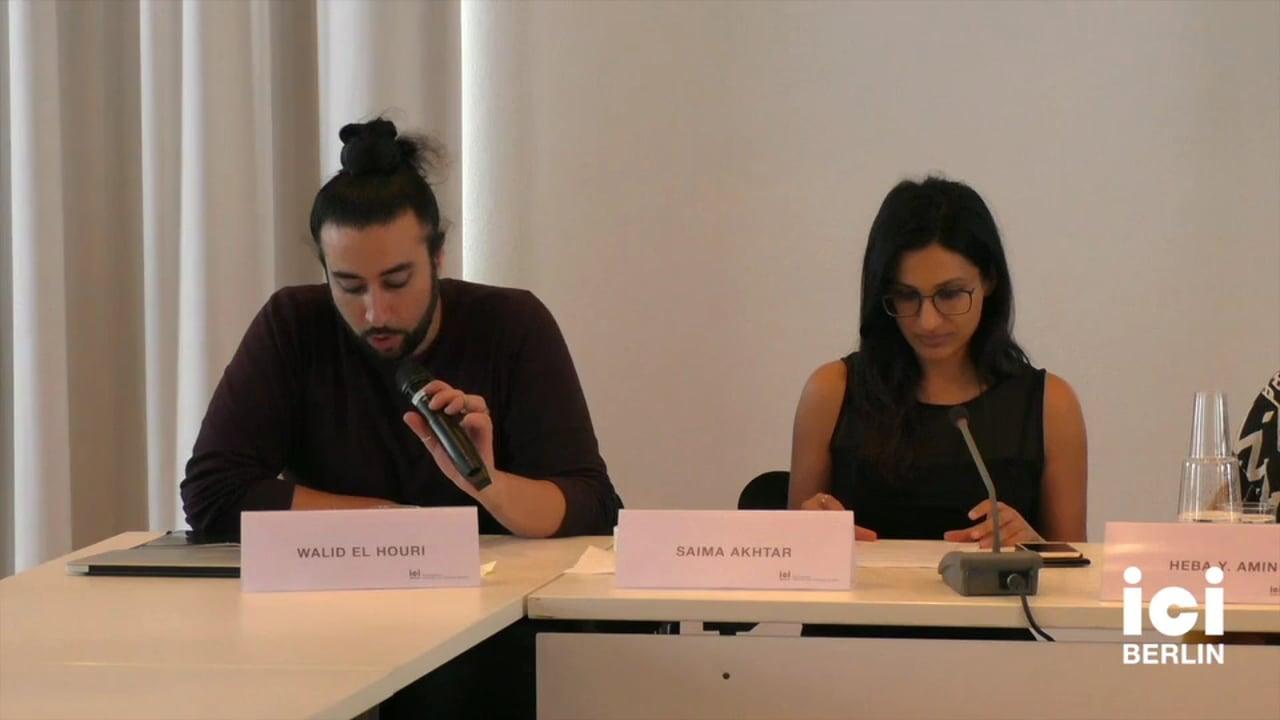 Introduction by Walid El Houri and Saima Akhtar