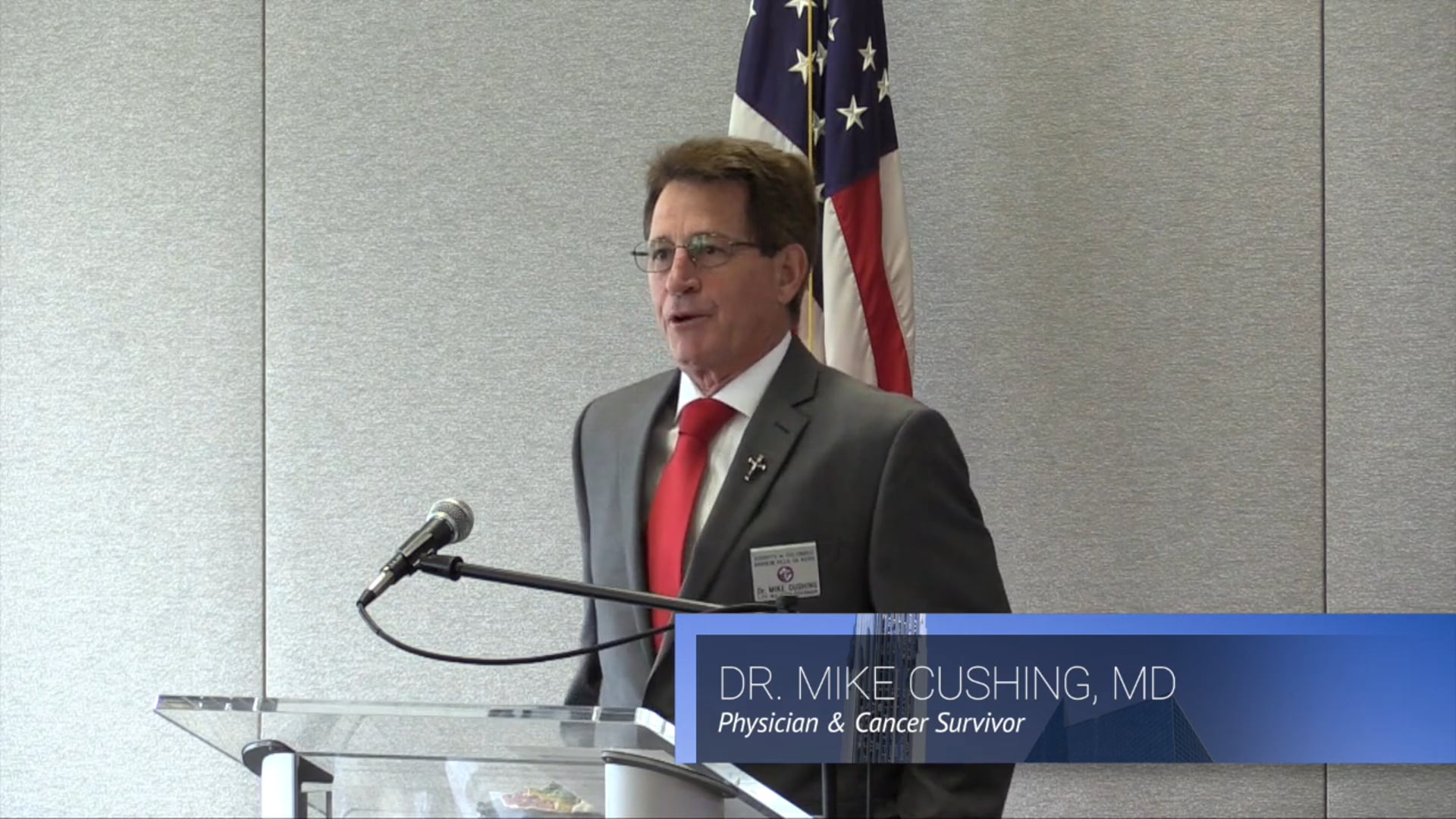 """Dr. Mike Cushing: """"Comfort the Afflicted: An Alternative to Physician-Assisted Suicide"""""""