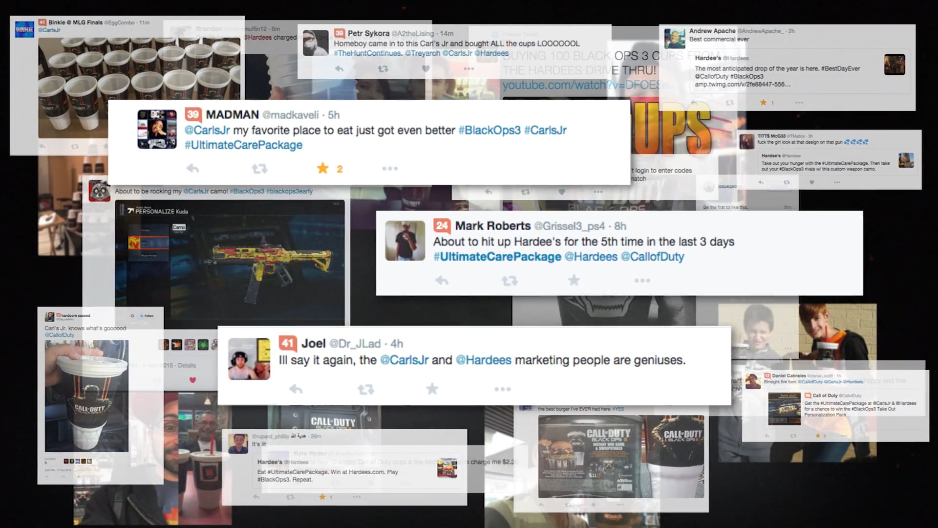 CASE STUDY - Call of Duty Best Day Ever - Carl's Jr. & Activision