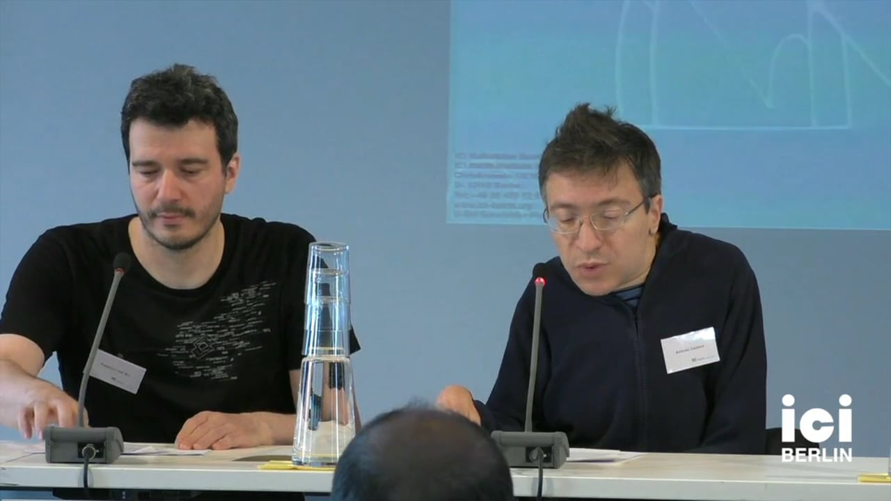 Introduction by Federico Dal Bo and Antonio Castore