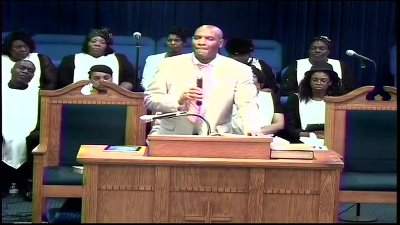 09-07-16, Pastor Antoine Montgomery, Heaven Is Better Than This