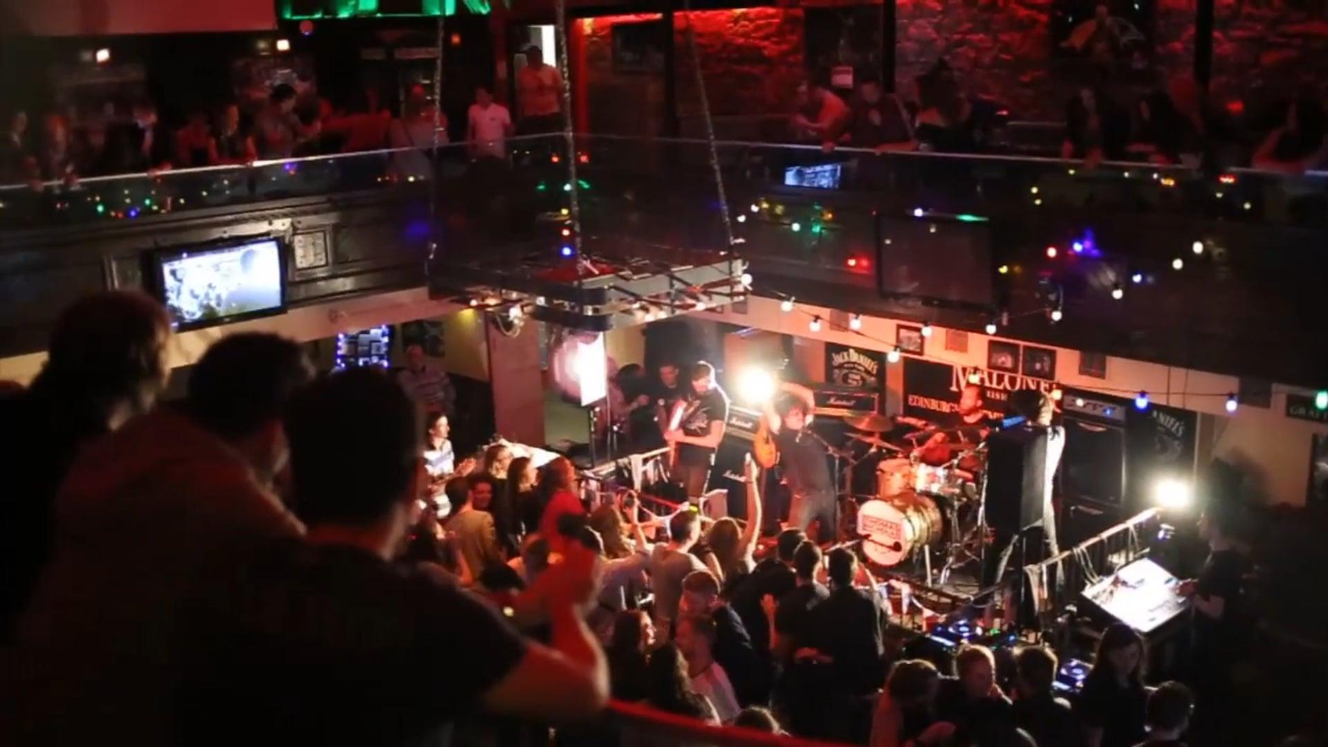 TNB #FratParty UK tour - Day 2 @ Malones in Edinburgh