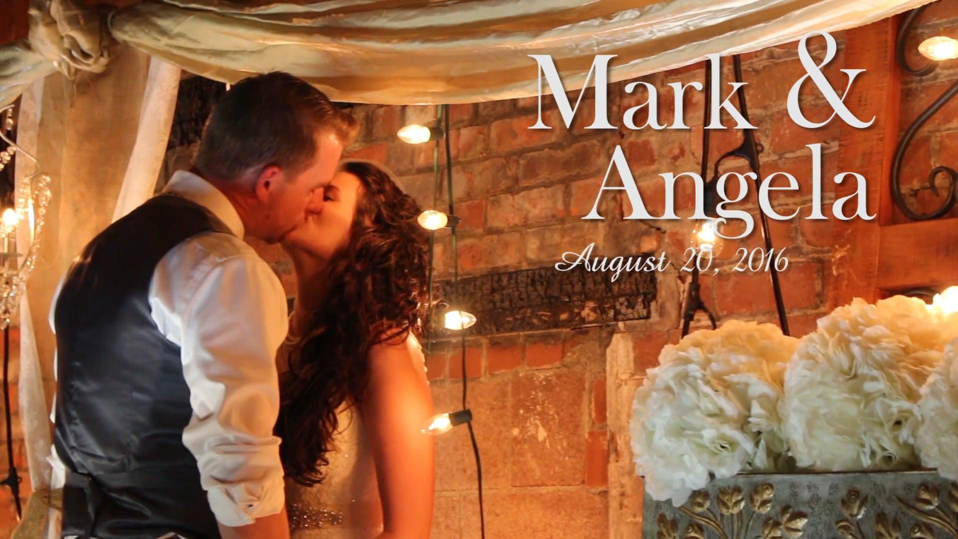 Mark & Angela - August 20, 2016