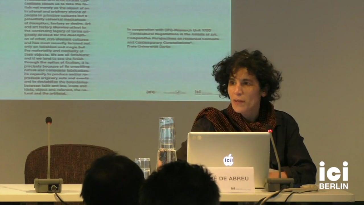Talk by Maria José de Abreu