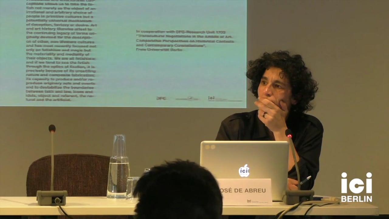Discussion with Maria José de Abreu