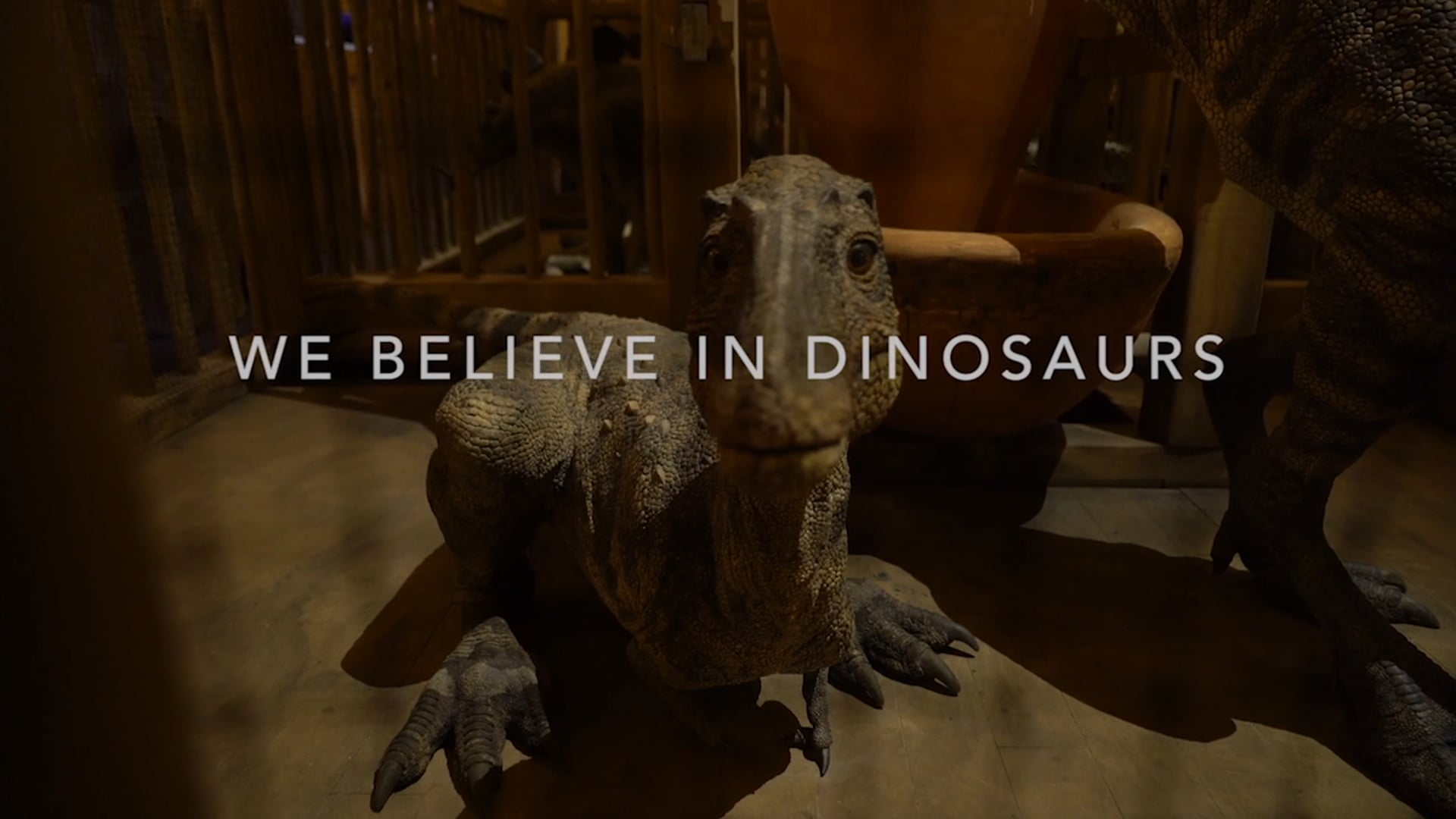WE BELIEVE IN DINOSAURS (Documentary Trailer)