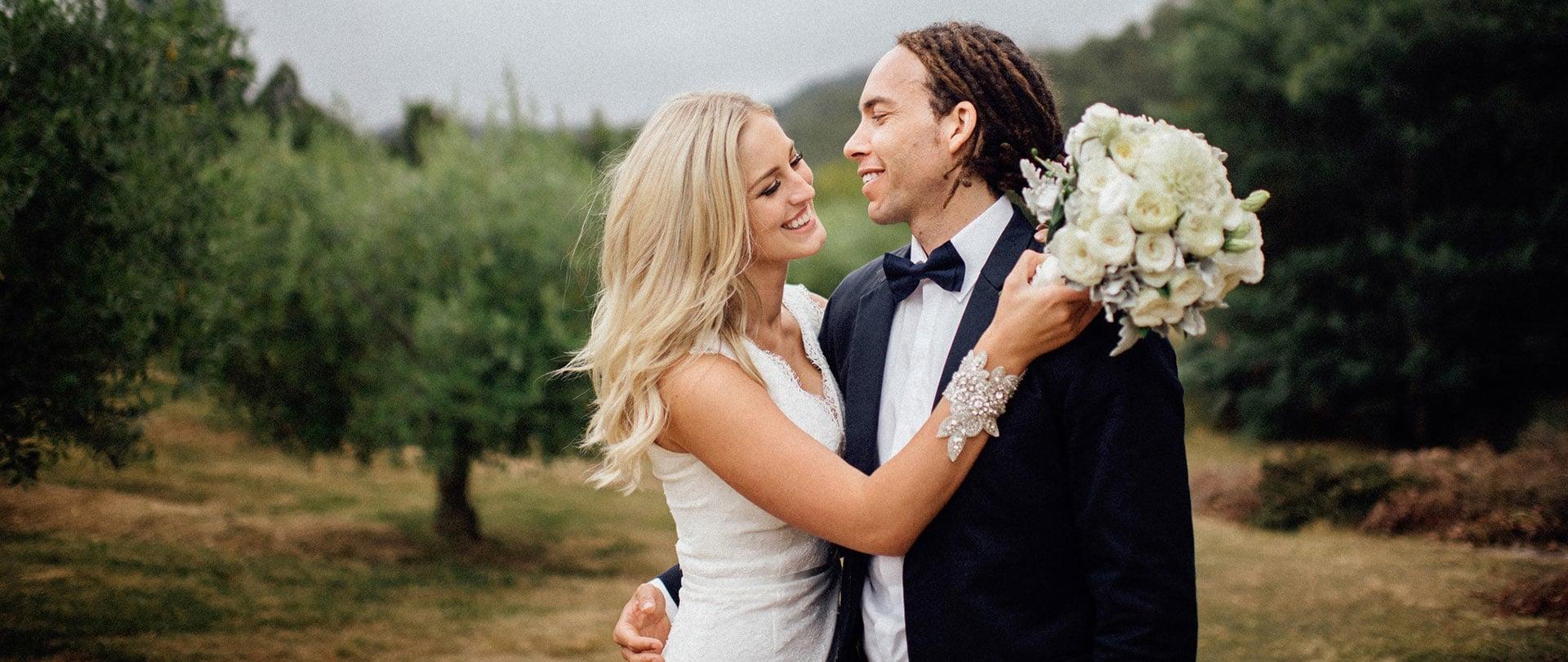 Hannah & Bj Wedding Video Filmed at Tasmania, Australia