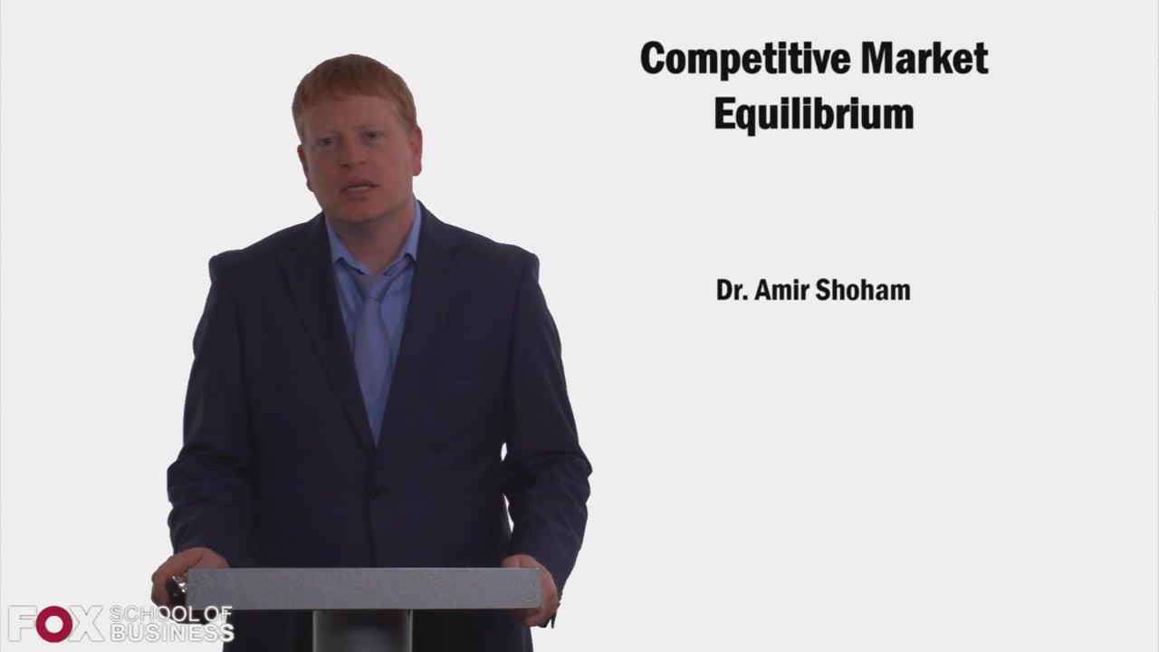 59088Competitive market equilibrium (market, company)