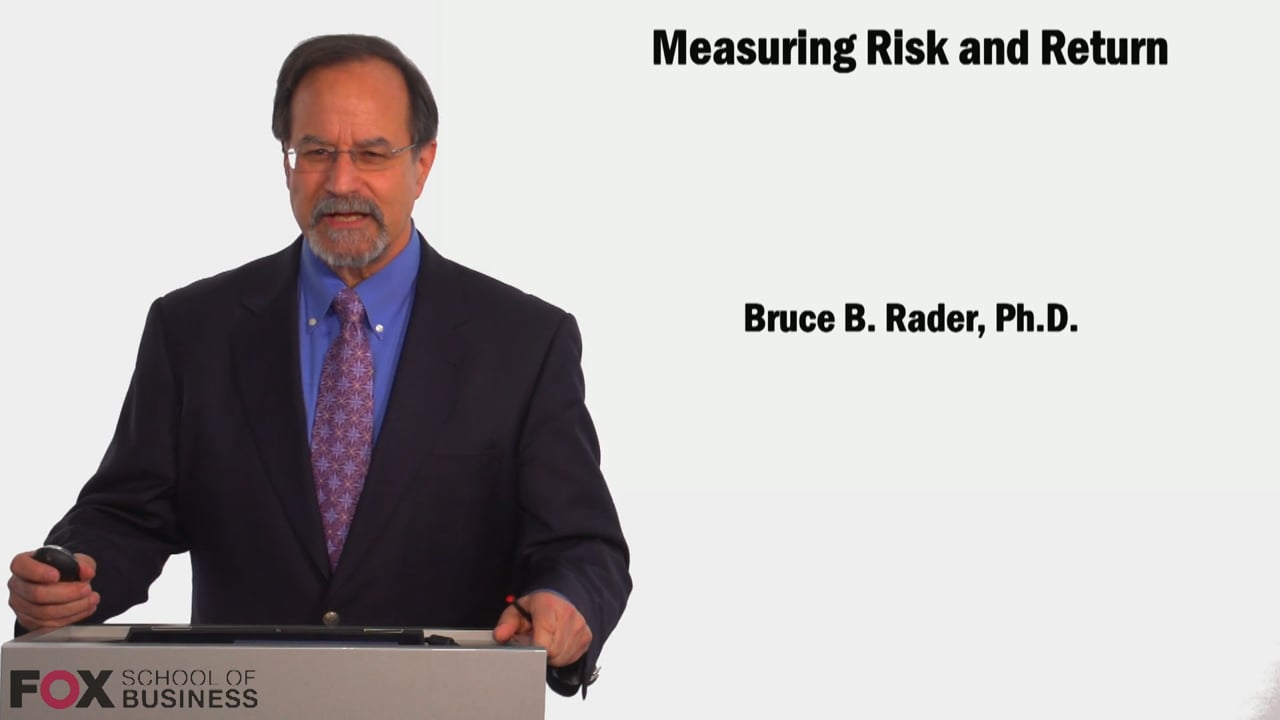 58869Measuring risk and return
