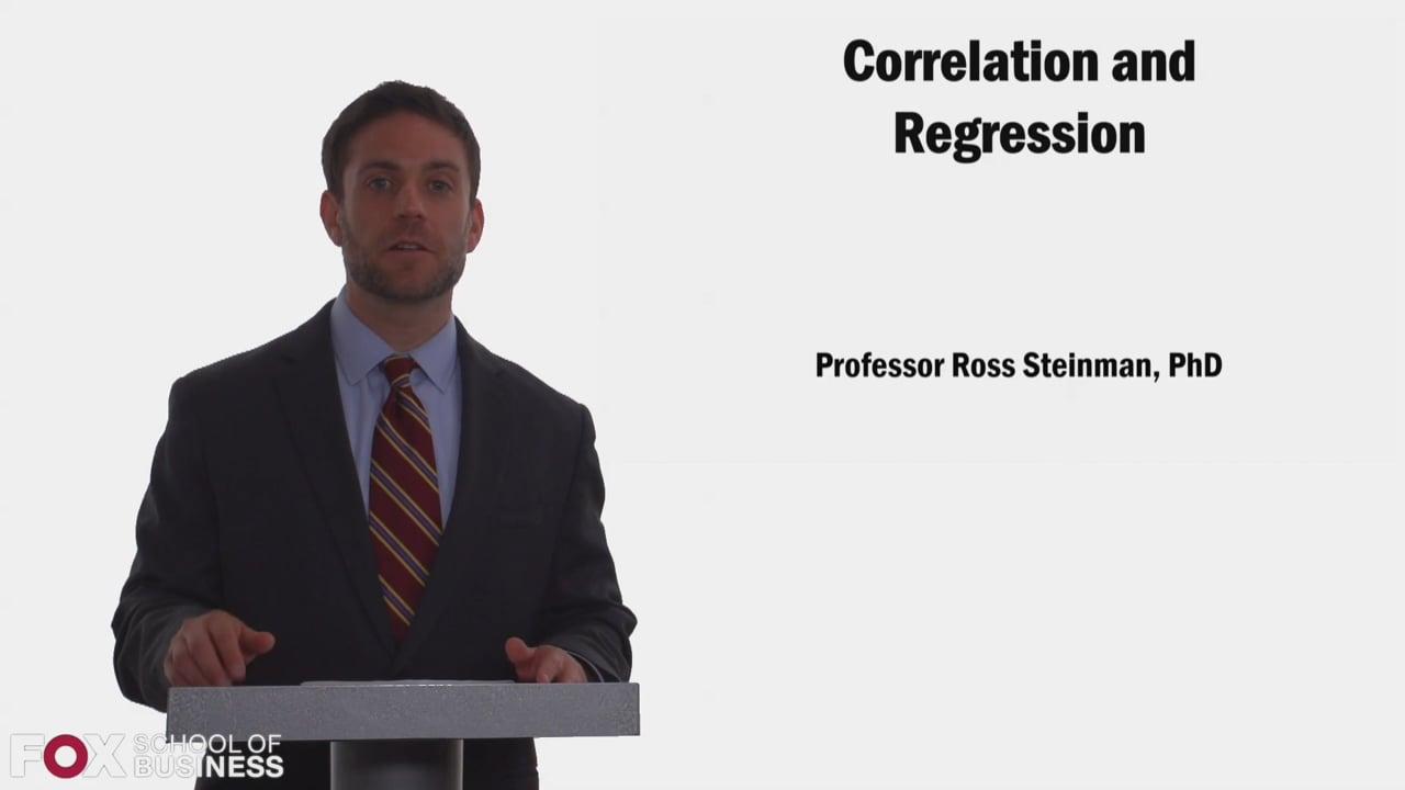 58310Correlation and Regression