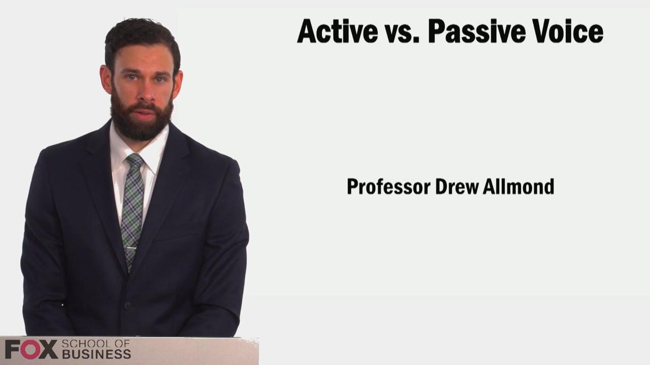58966Active vs Passive Voice