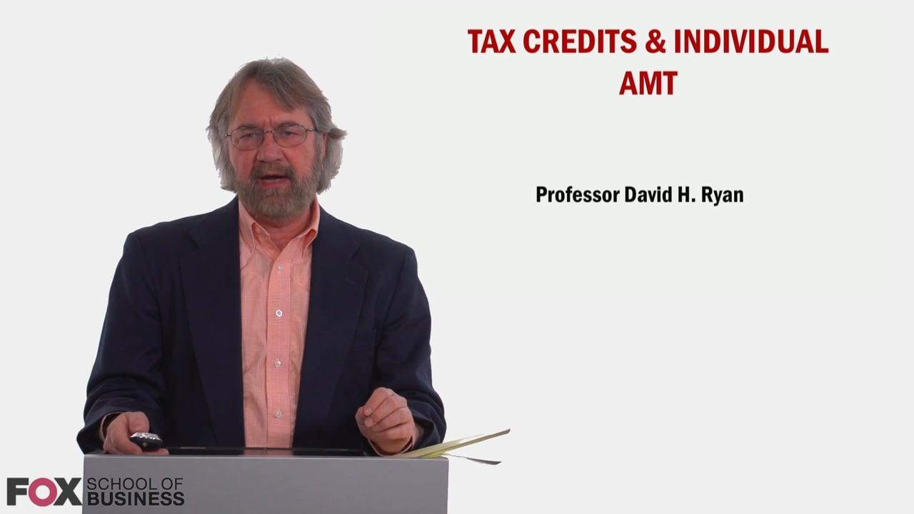 58838Tax Credits & Individual AMT