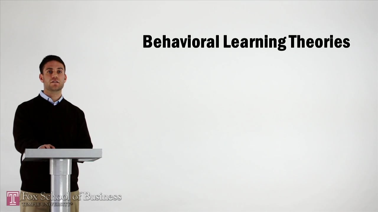 57017Behavioral Learning Theories