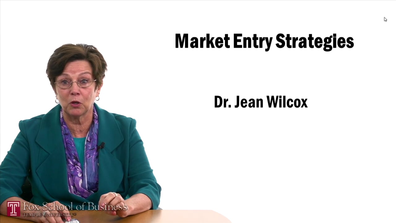 57449Market Entry Strategies – Joint Venture and Investment