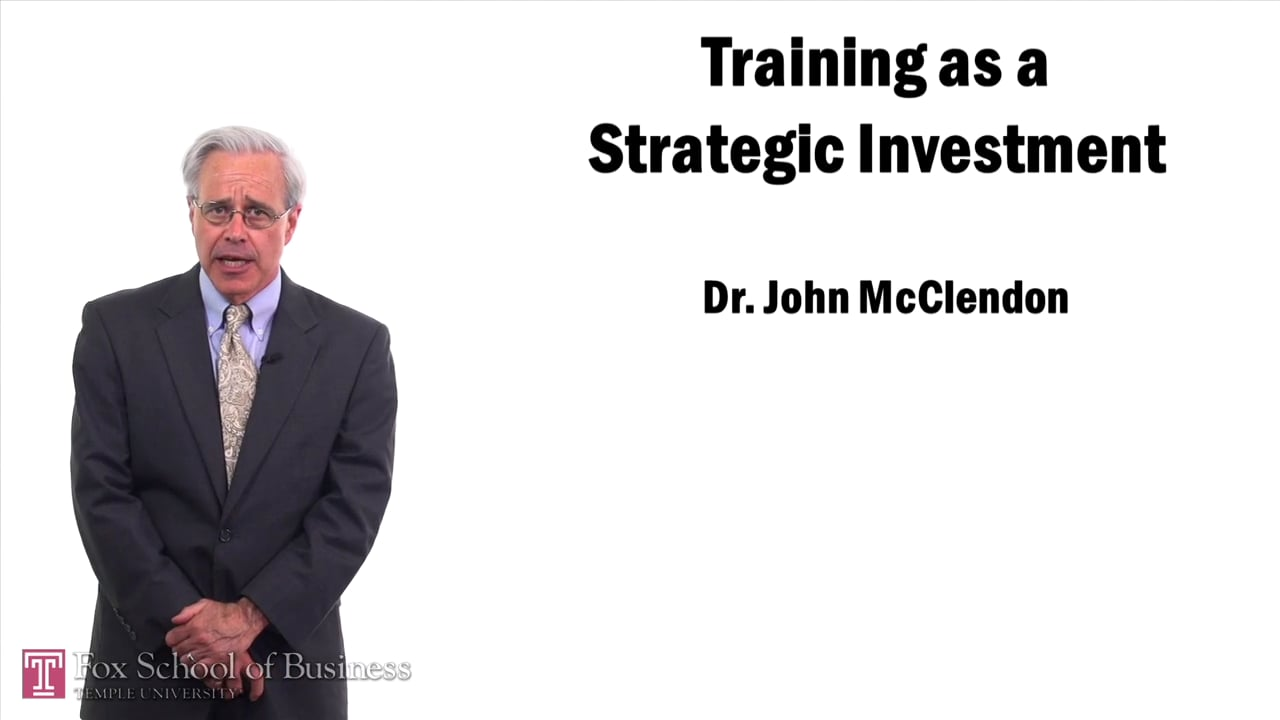57461Training as a Strategic Investment
