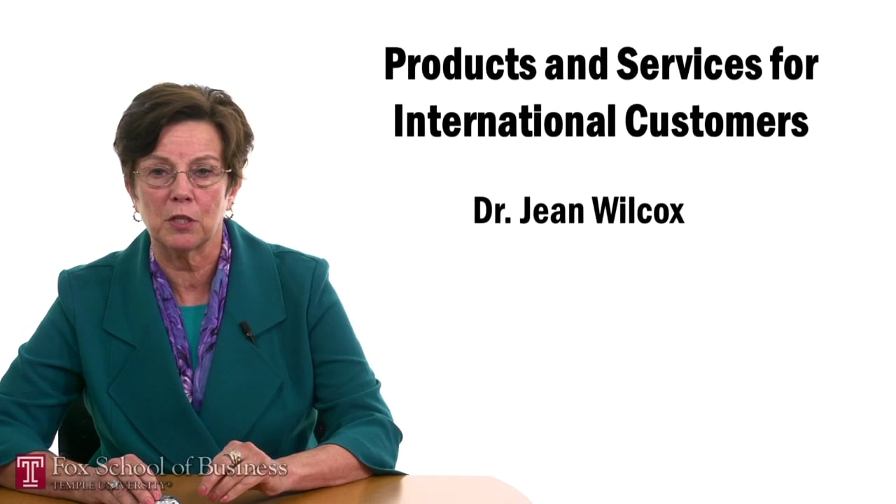 57479Products and Services for International Customers – Product Adaptation