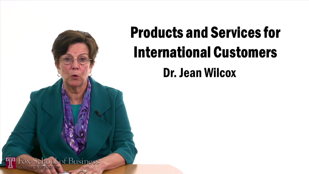 57478Products and Services for International Customers – Global Branding