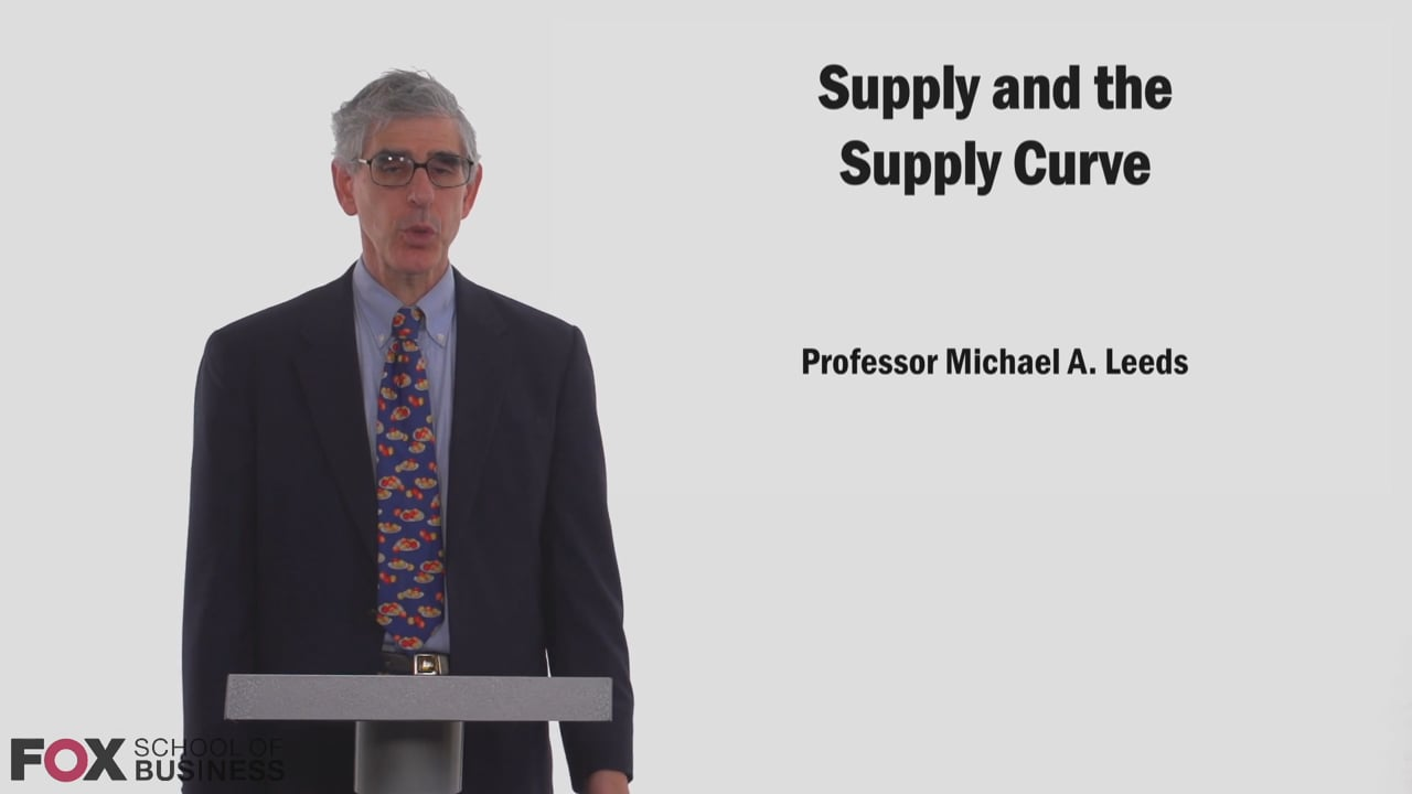 58817Supply and the Supply Curve