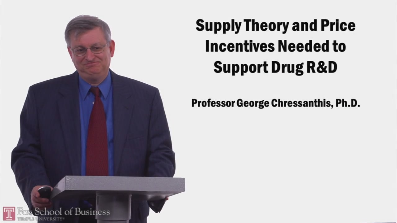 57978Supply Theory and Price Incentives Needed to Support Drug R and D
