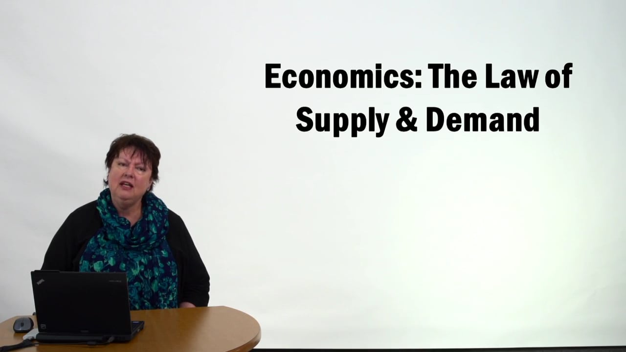 57317Economics – The Law of Supply and Demand