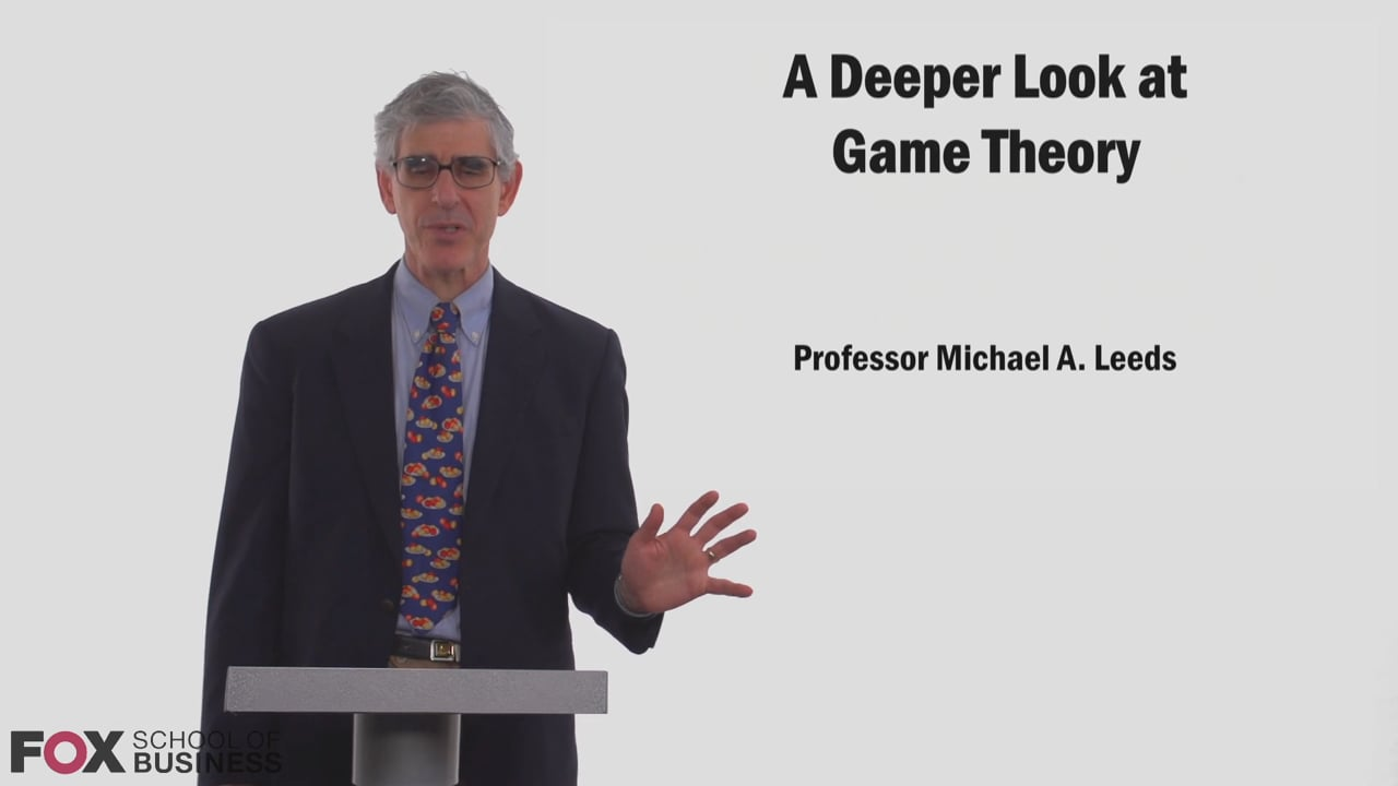 58825A Deeper Look At Game Theory