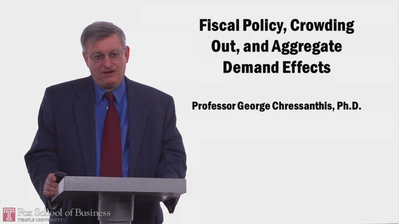 57975Fiscal Policy, Crowding Out, and Aggregate Demand Effects