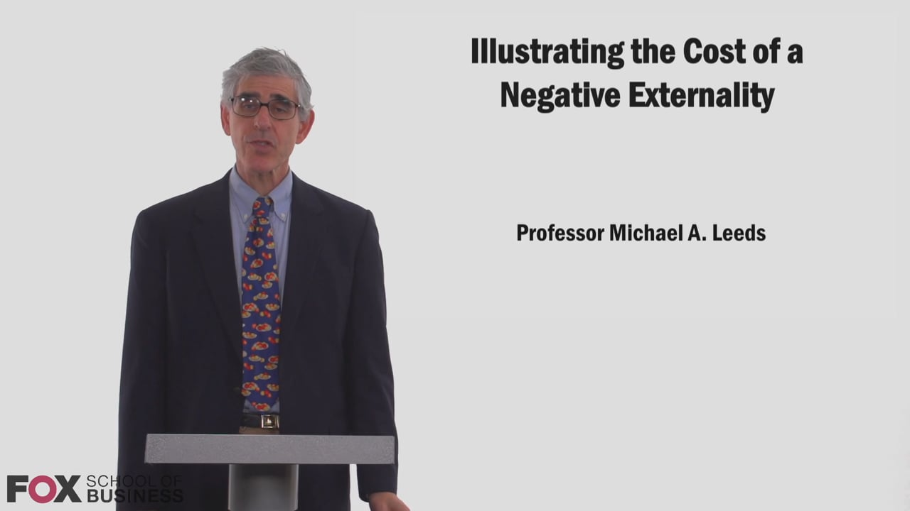 58821llustrating the Cost of a Negative Externality