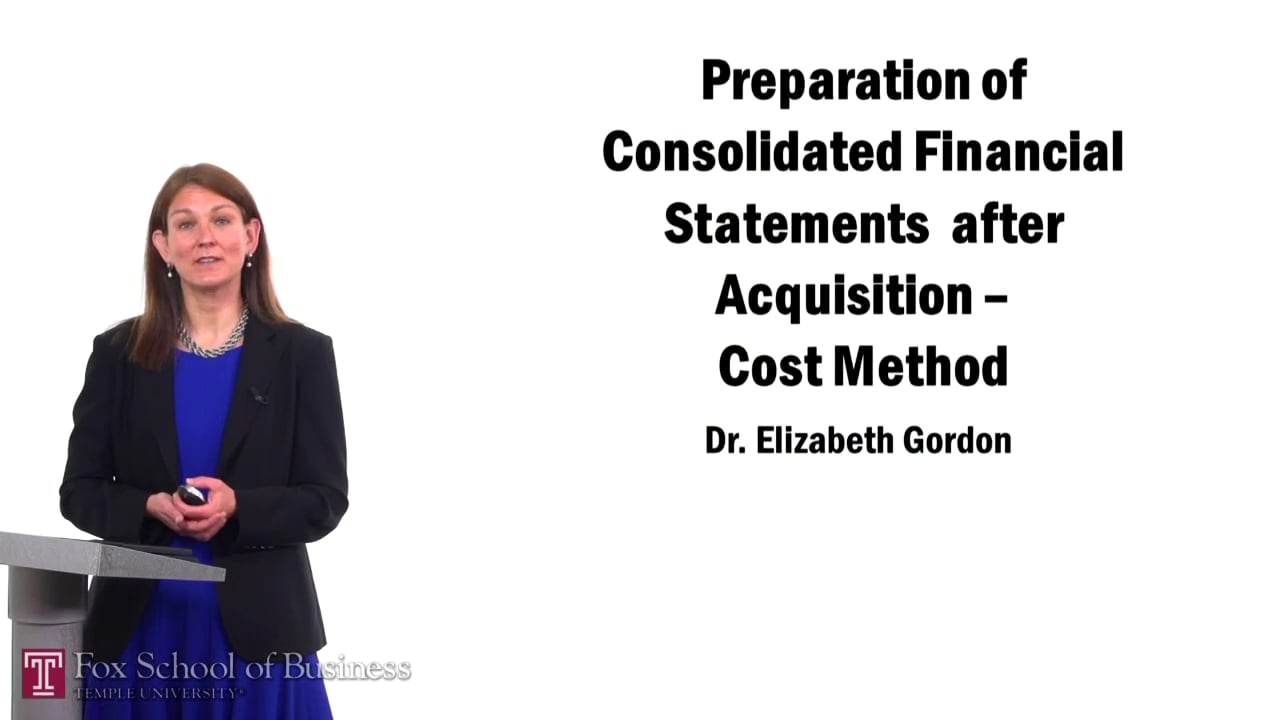 57501Preparation of Consolidated Financial Statements After Acquisition – Cost Method