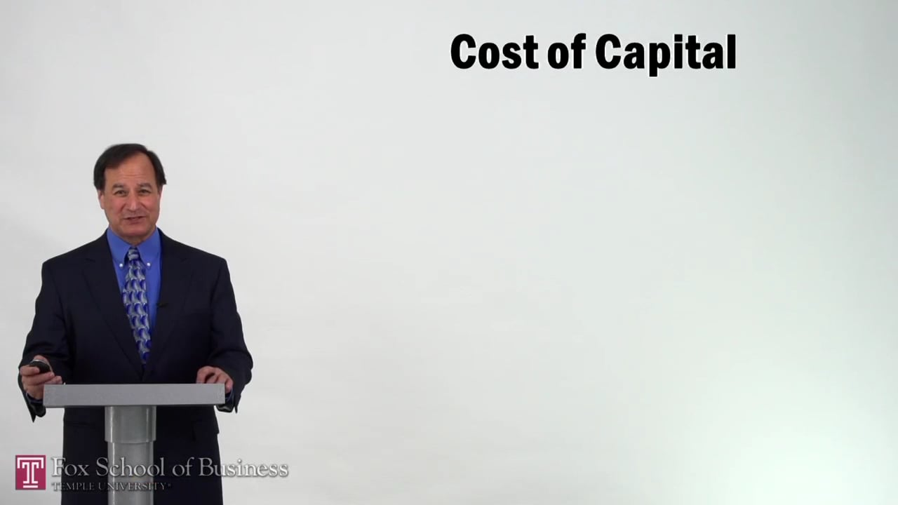 57214Cost of Capital
