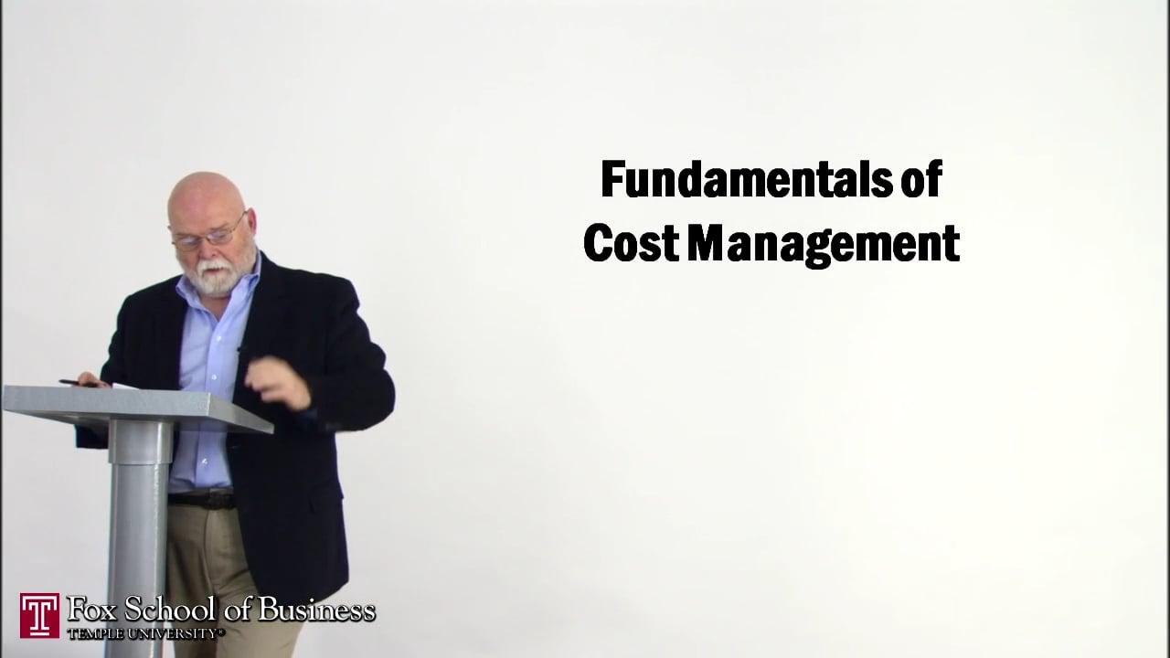 56843Fundamentals of Cost Management