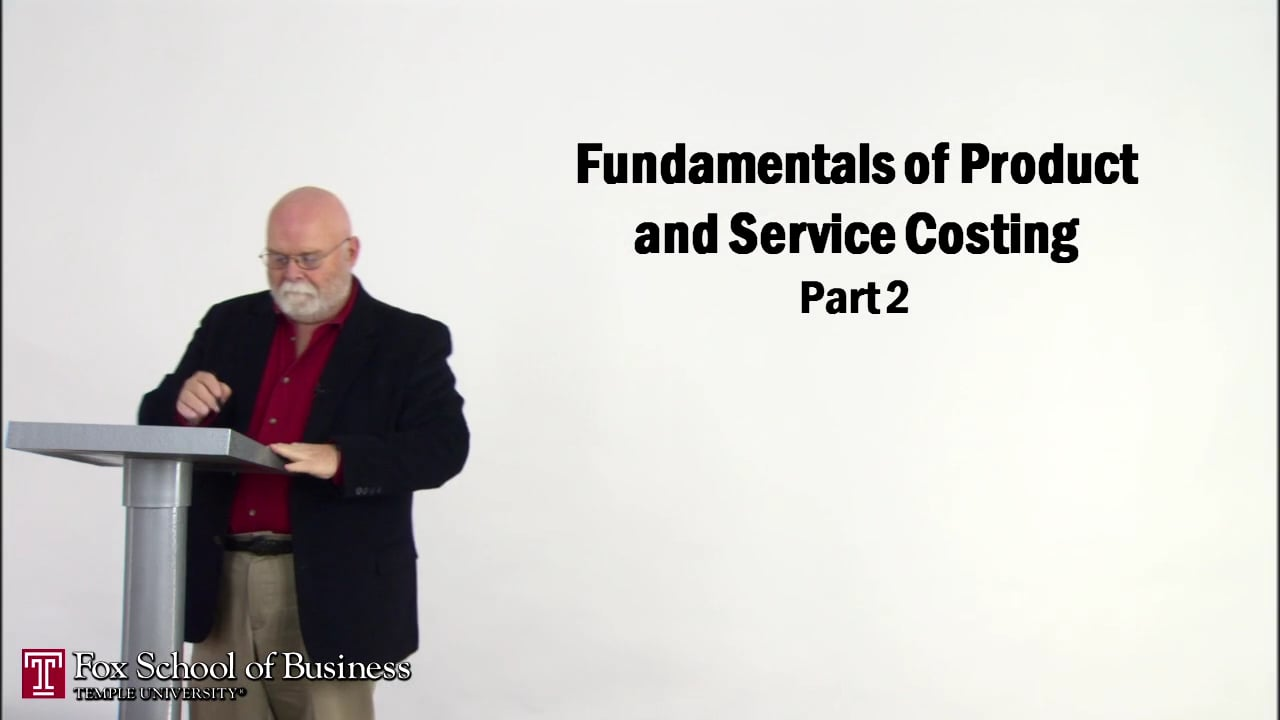 56837Fundamentals of Product and Service Costing II