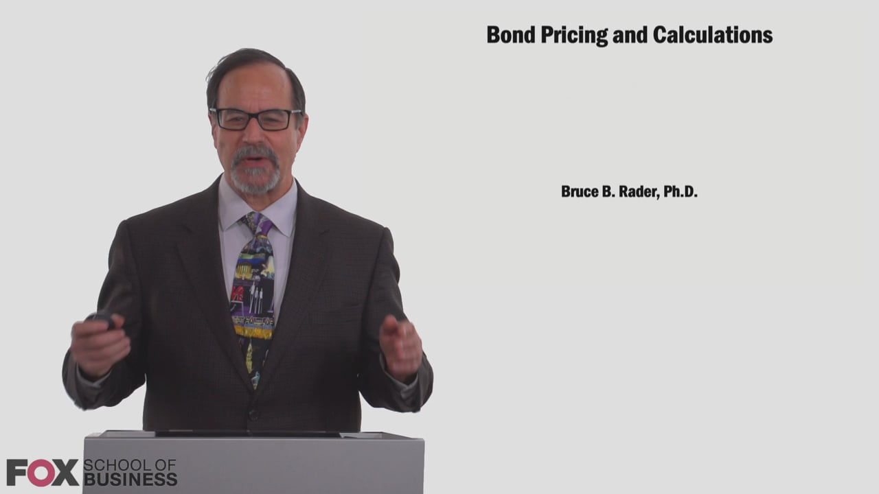 58816Bond Pricing and Calculations