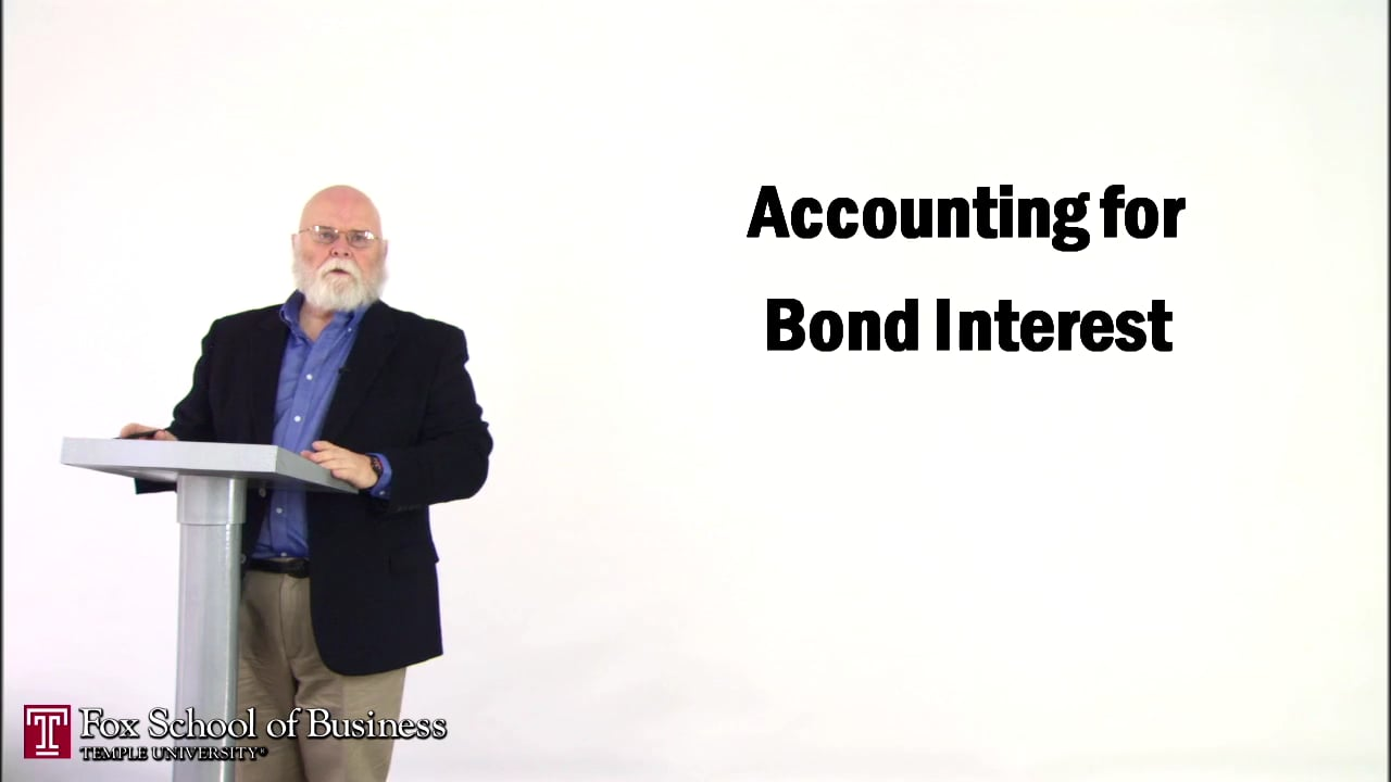 57142Accounting for Bond Interest