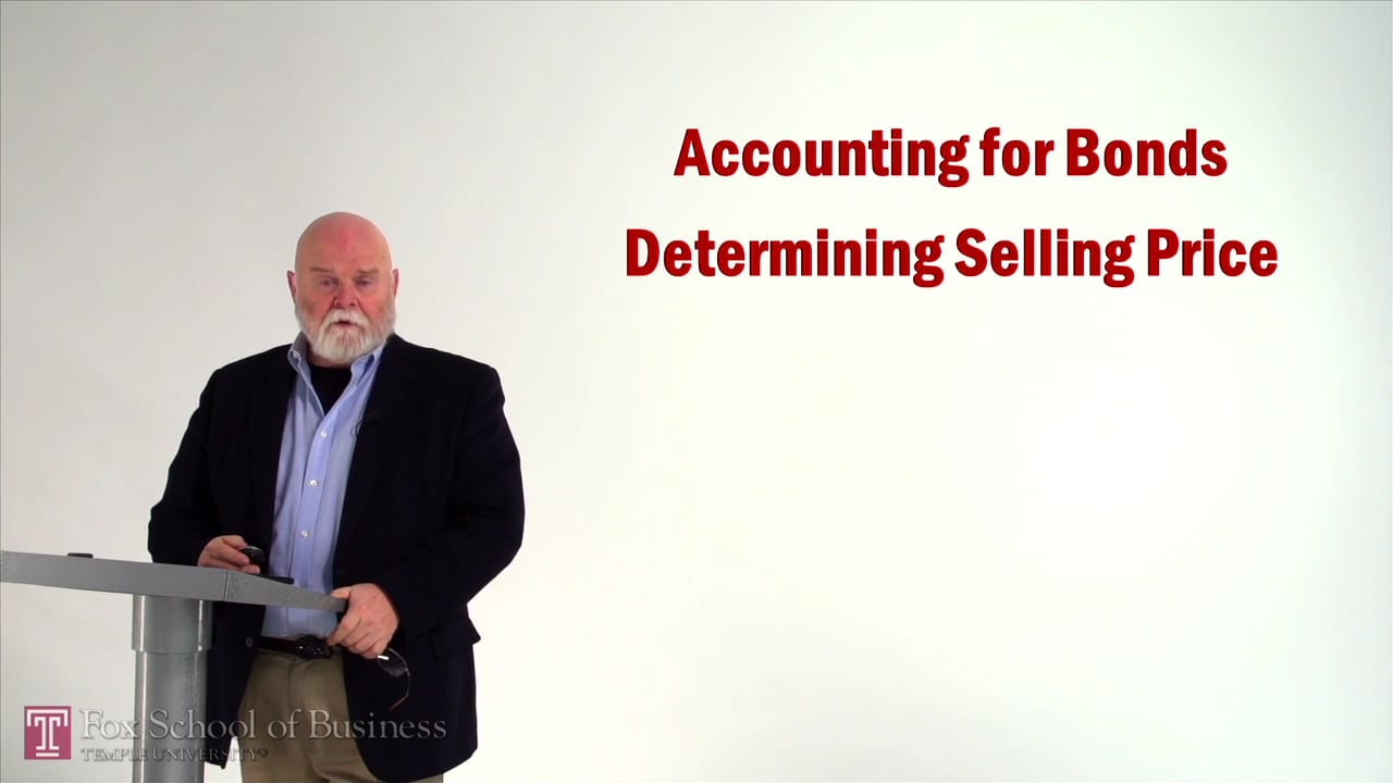57035Bonds: Selling Price