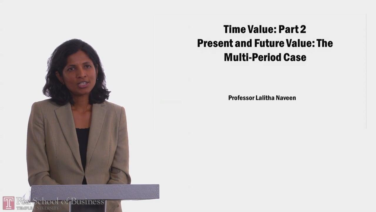 58045Time Value PT2 Present and Future Value: The Multi-Period Case