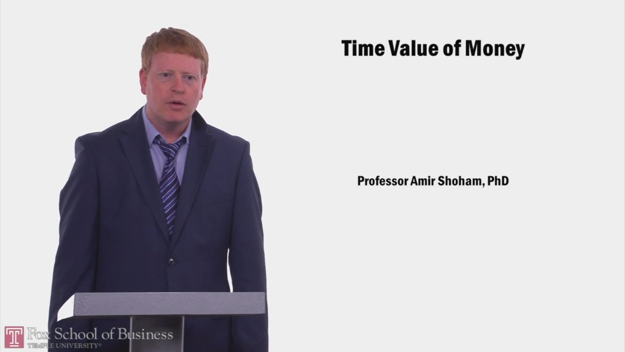 58038Time Value of Money
