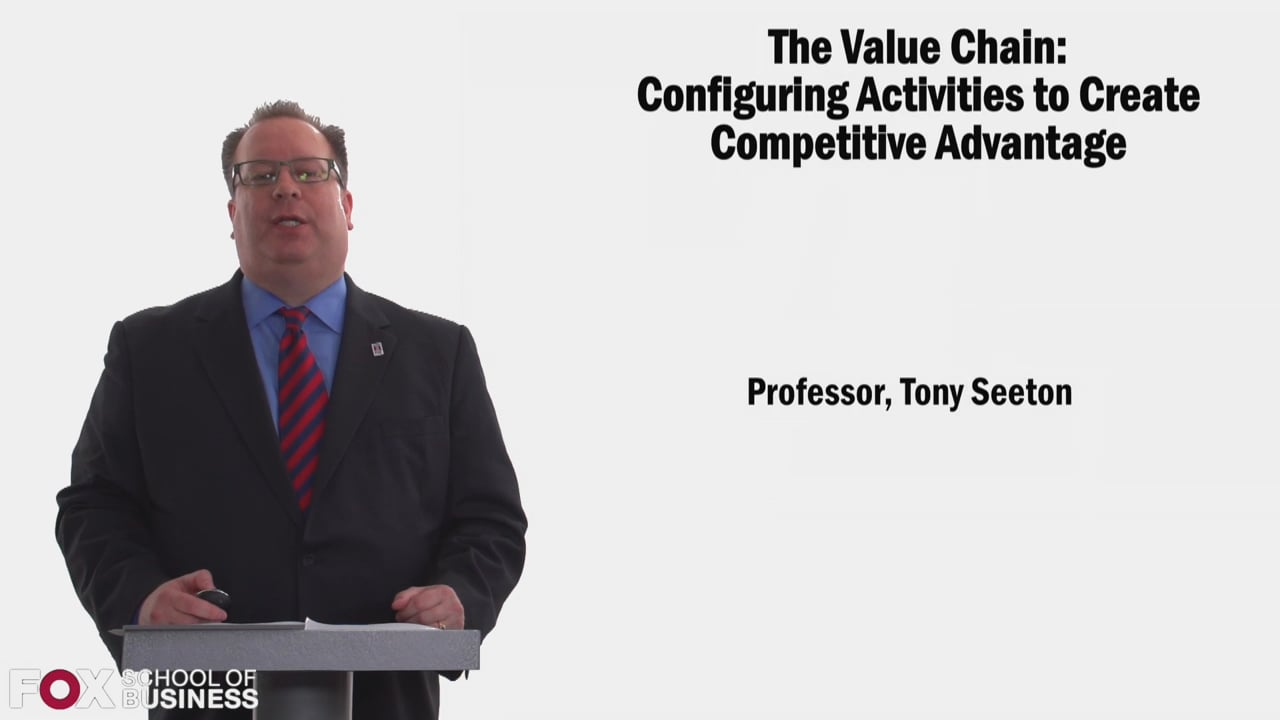 58362The Value Chain: Configuring Activities to Create Competitive Advantage