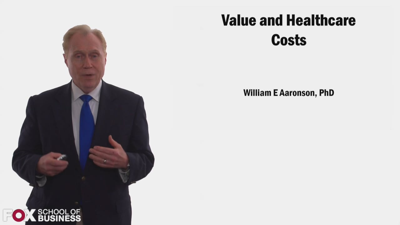 58352Value and Healthcare Costs