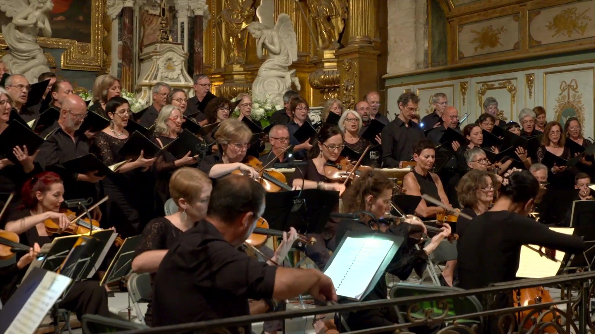 MOZART (Te Deum) - HAYDN (Missa in Tempore). Chœur et Ensemble Instrumental Robert GRIMAUD - 2016
