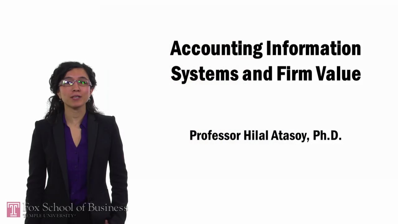 57734Accounting Information Systems and Firm Value