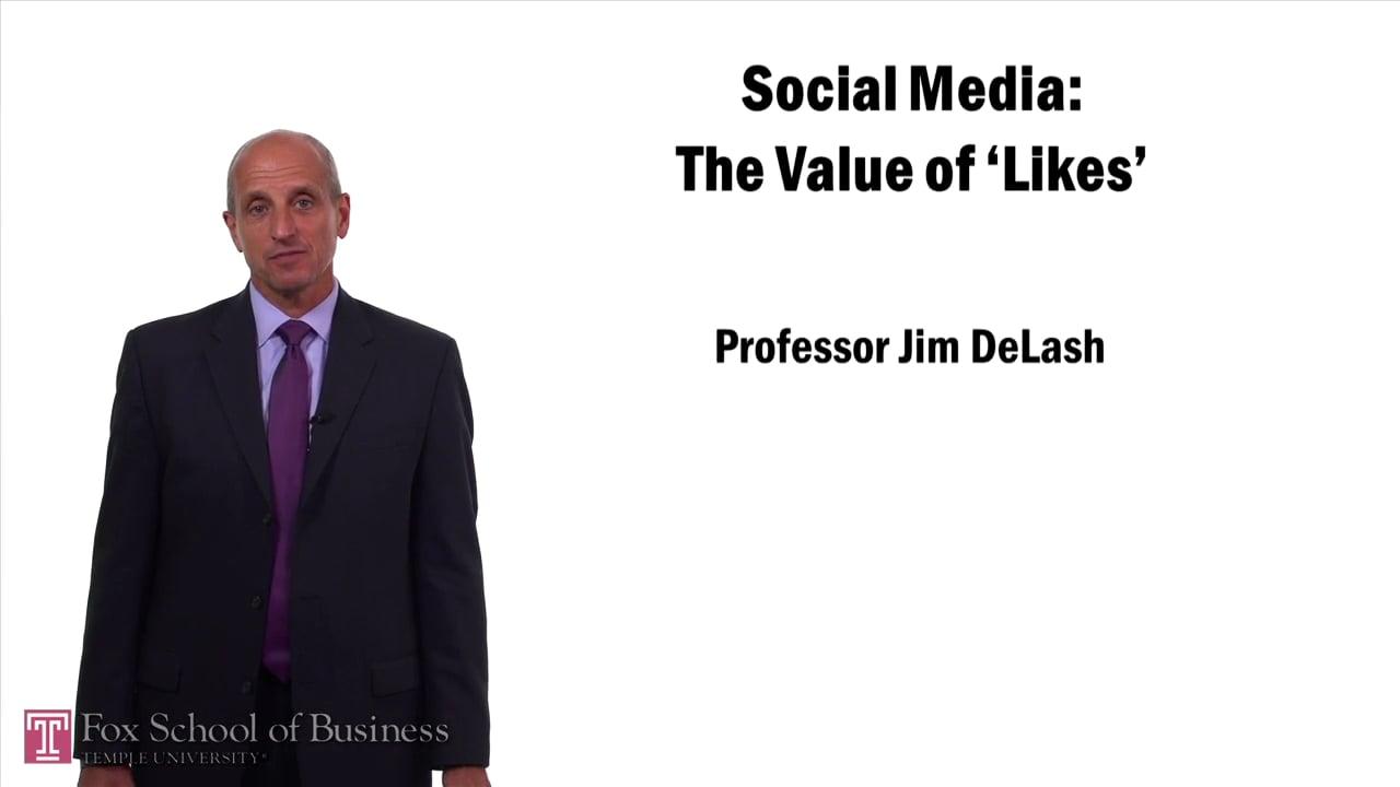 57527Social Media – The Value of Likes