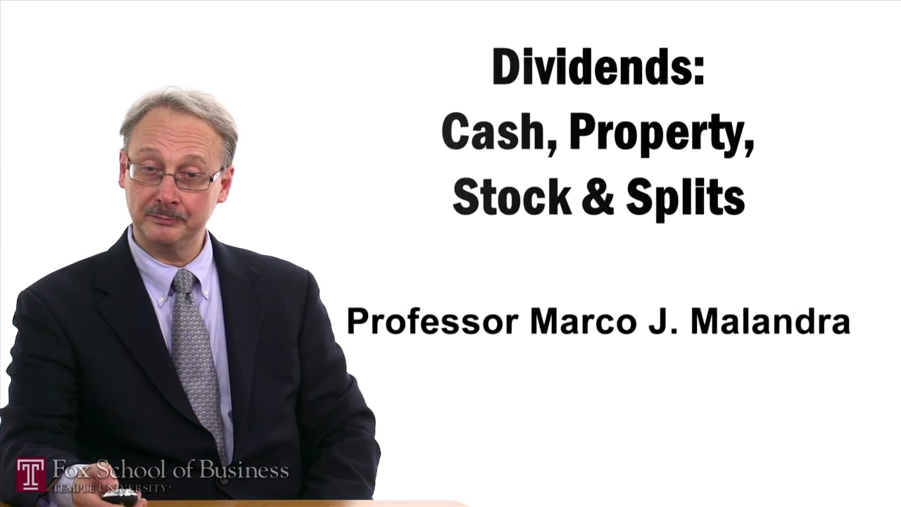 57399Dividends – Cash Property Stock and Splits
