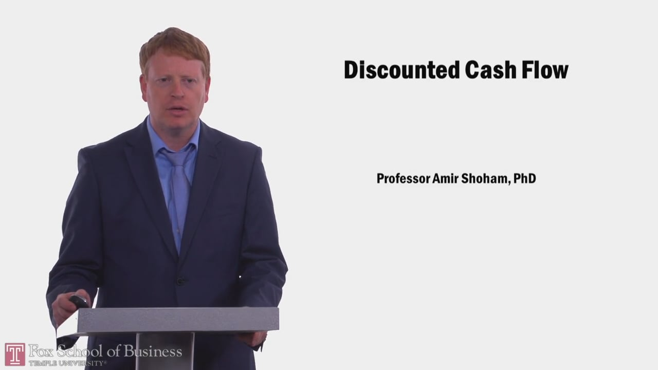 58029Discounted Cash Flow