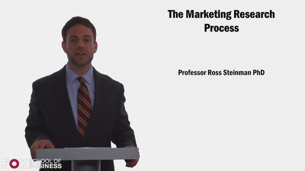 58317The Marketing Research Process