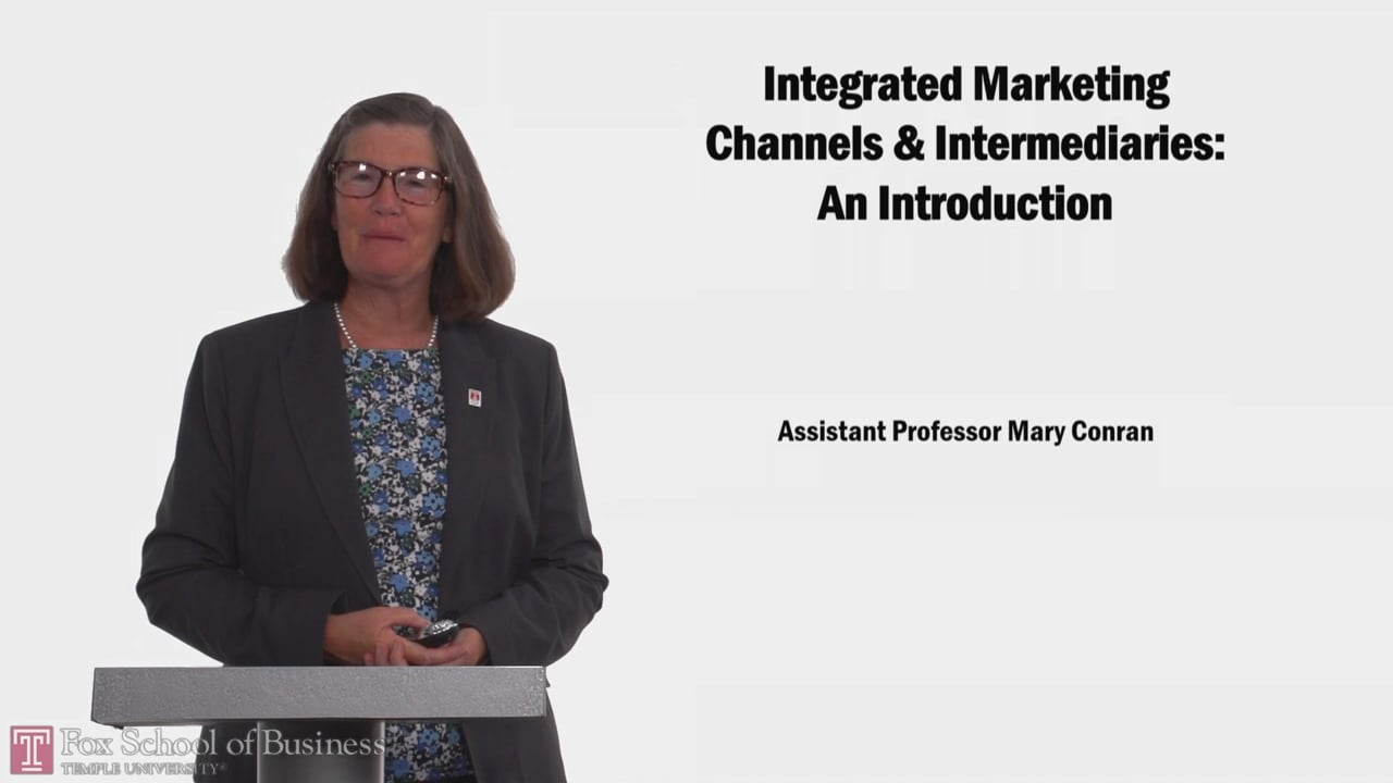 58137Integrated Marketing Channels & Intermediaries: An Introduction