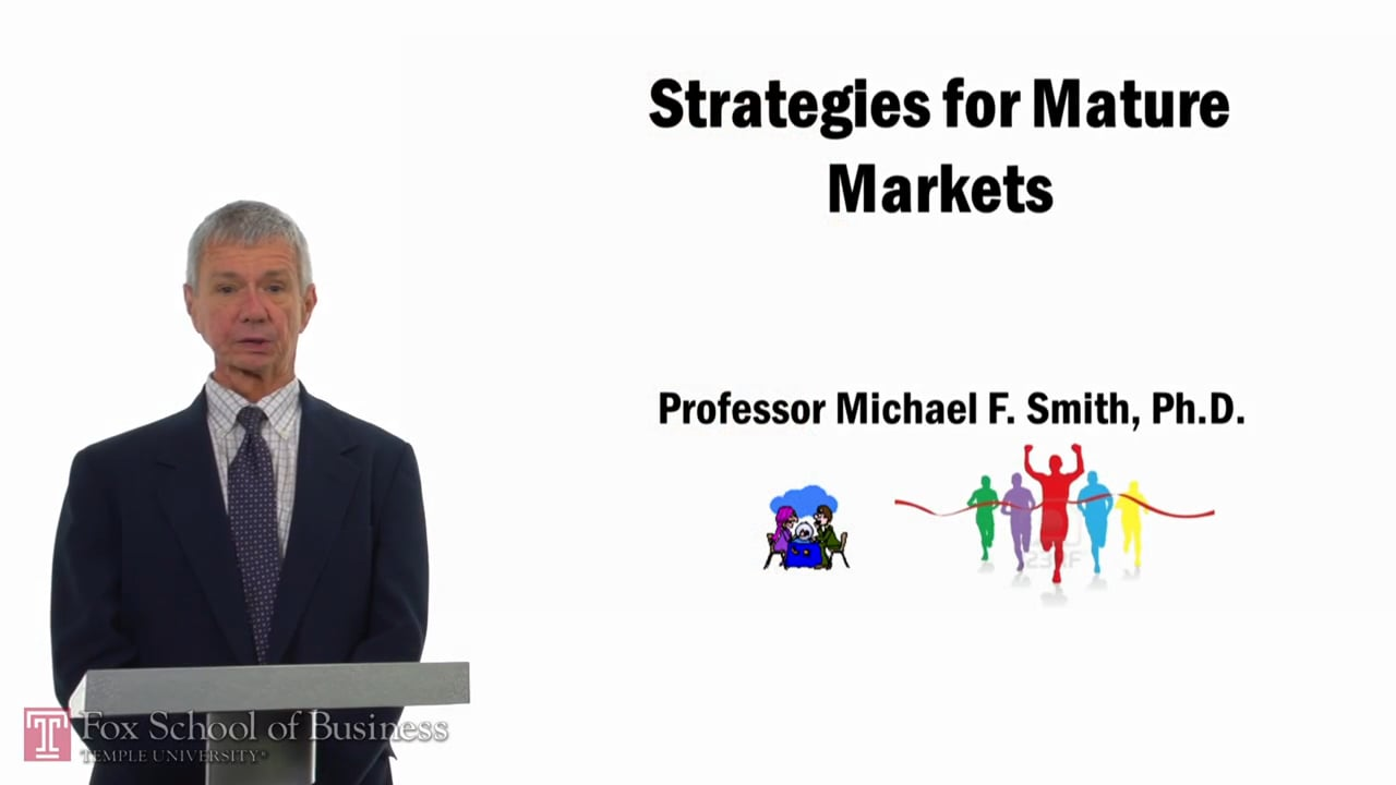 57759Strategies for Mature Markets