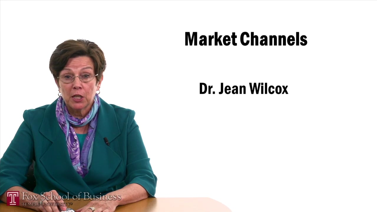 57476Market Channels II- Channel Structures