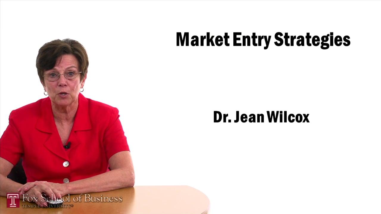 57448Market Entry Strategies – Licensing